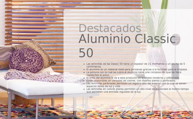 DESCRIP. ALUMINIO CLASSIC 50