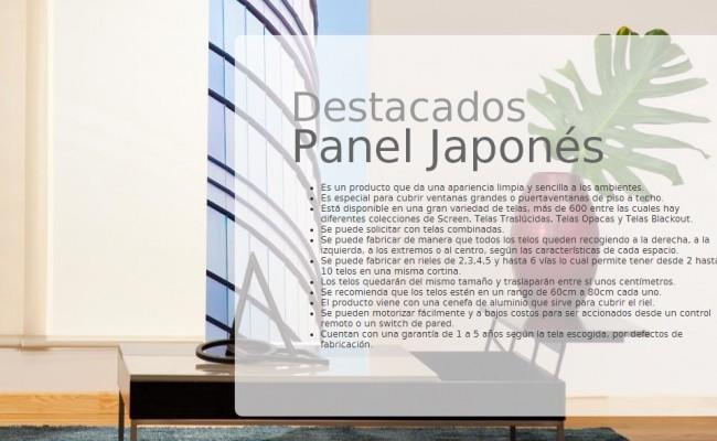DESCRIP. PANEL JAPONÉS