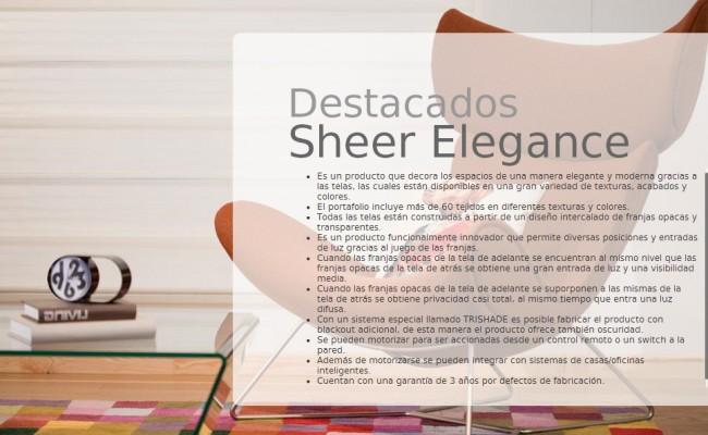 DESCRIP. SHEER ELEGANCE