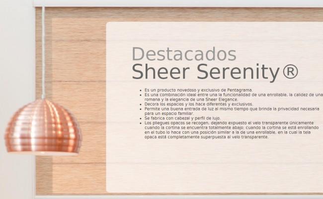 DESCRIP. SHEER SERENITY