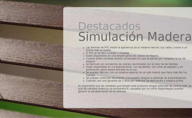 DESCRIP. SIMULACIÓN MADERA