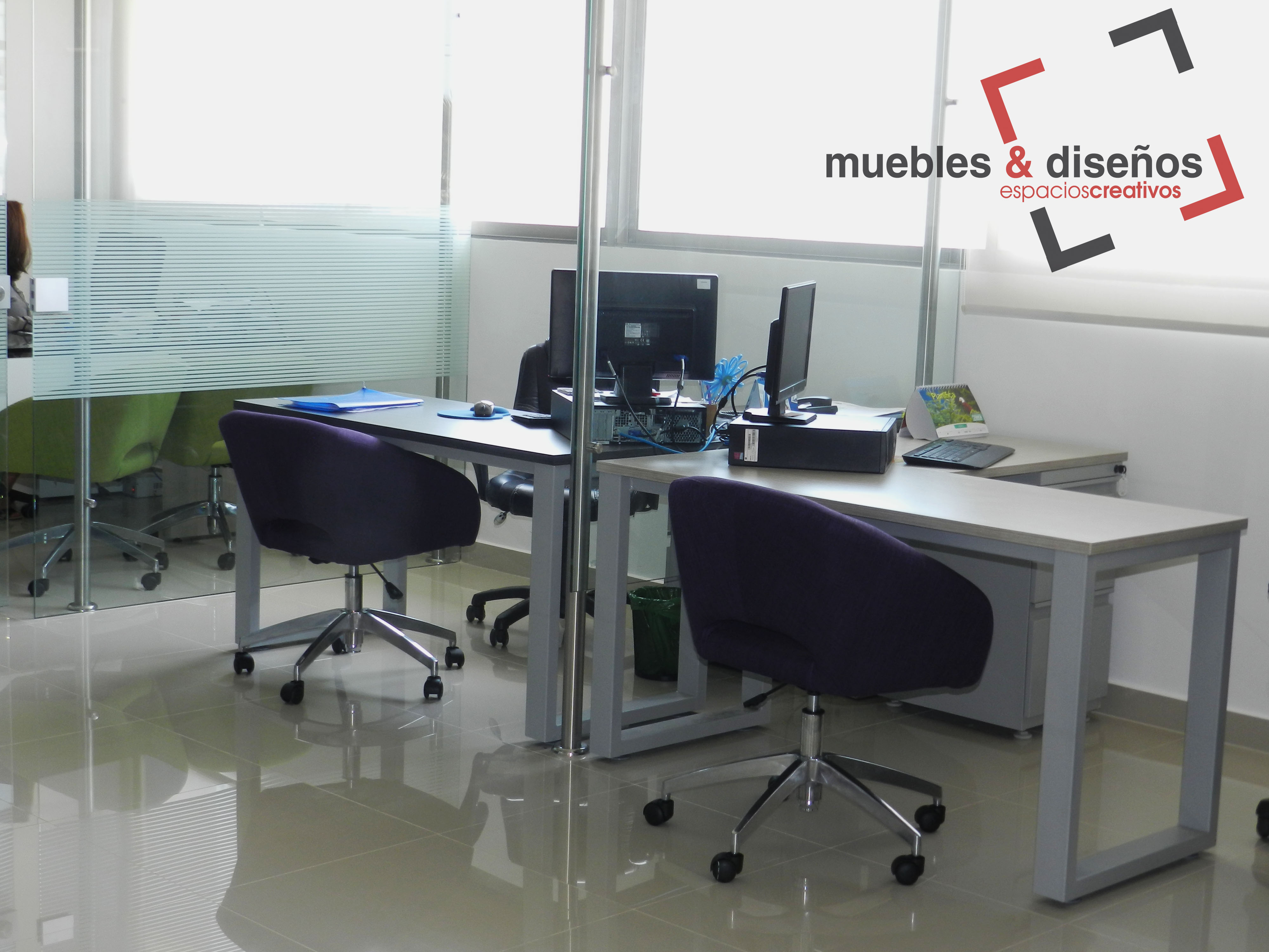 Escritorios operativos muebles y dise os for Muebles escritorio diseno