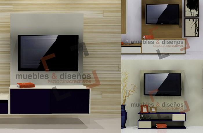 M. TV   PARED DE FÓRMICA