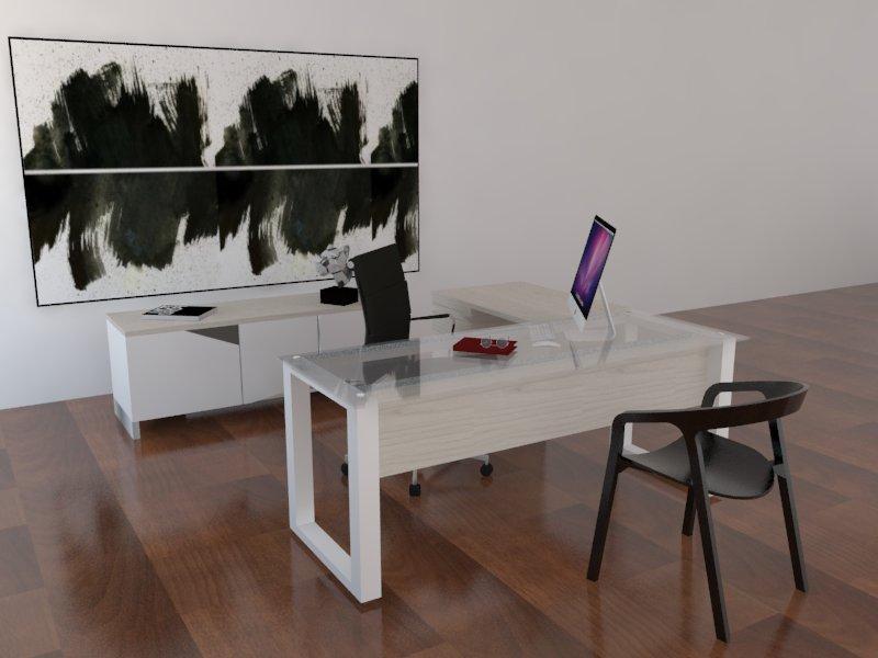 Escritorios gerenciales muebles y dise os for Conjunto muebles oficina