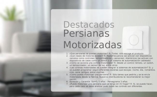 PERSIANAS MOTORIZADAS 2