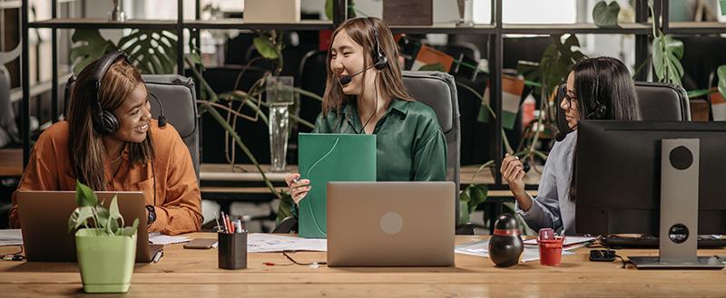 Decoración de oficina para mayor comodidad